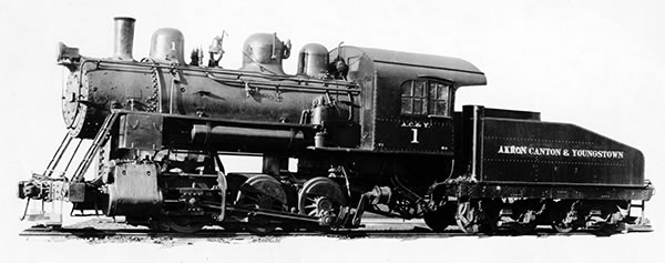 AC&Y Railway Engine #1