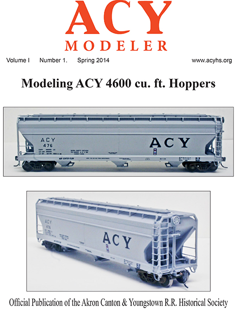 Spring 2014 issue of the ACY Modeler