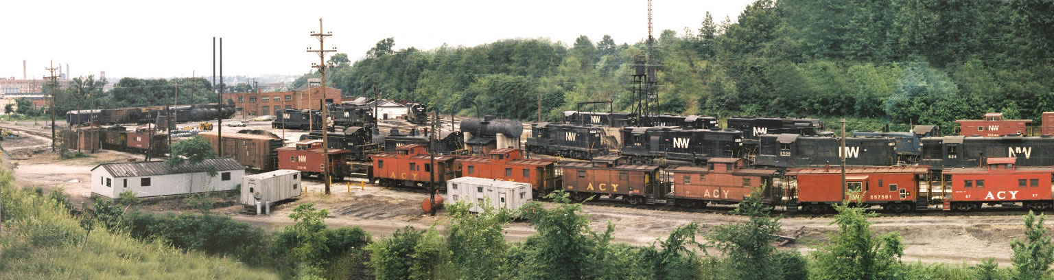 Panorama of Brittain Yard
