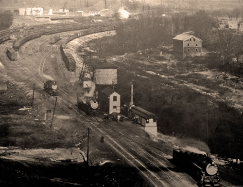 Early image of Brittain Yard